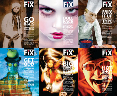 Photoshop Fix! One Year Issues 2004-2005