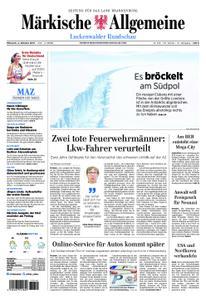 Märkische Allgemeine Luckenwalder Rundschau - 02. Oktober 2019