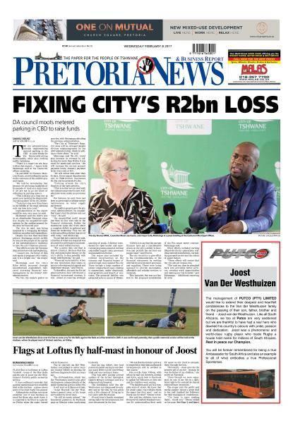 The Pretoria News - February 8, 2017