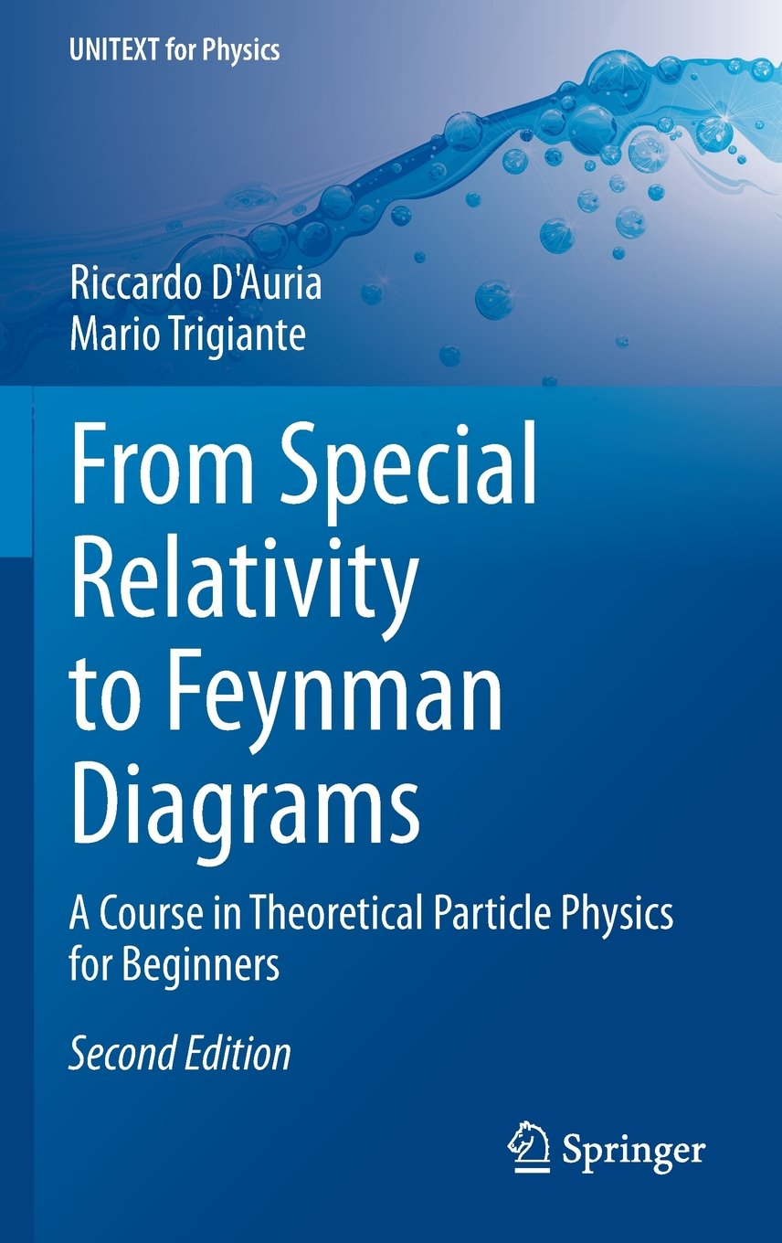From Special Relativity To Feynman Diagrams  A Course In Theoretical Particle Physics For