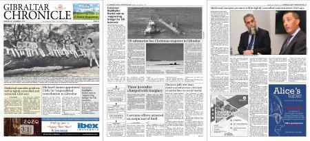 Gibraltar Chronicle – 30 December 2019