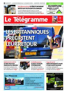 Le Télégramme Brest Abers Iroise – 15 août 2020