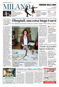 Corriere della Sera Milano – 10 ottobre 2018