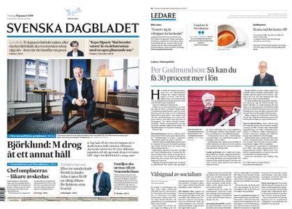 Svenska Dagbladet – 29 januari 2019