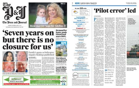 The Press and Journal Moray – October 20, 2020