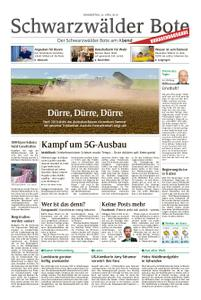 Schwarzwälder Bote Hechingen - 25. April 2019