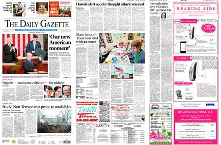 The Daily Gazette – January 31, 2018