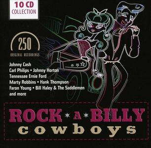 V.A. - Rock-A-Billy Cowboy: 250 Original Recordings (10CD Box Set, 2012)