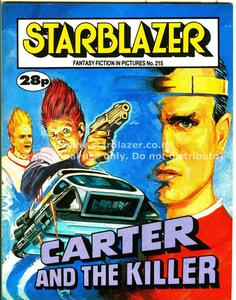 Starblazer 215-Carter and the Killer 1988 PDFrip