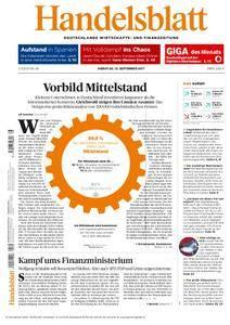 Handelsblatt - 19. September 2017