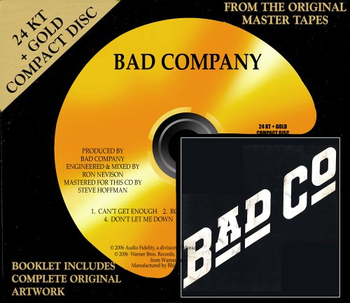 BAD COMPANY - Bad Co (Remastered Gold Edition 2006) [Re-UP]