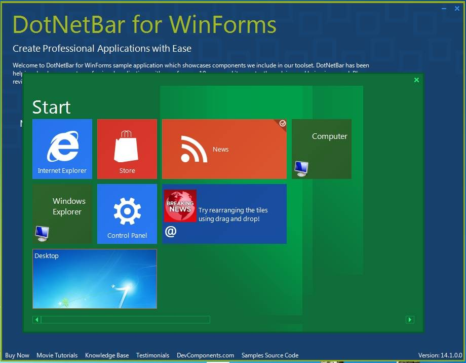Components NET WinForms Controls Visual Studio 2013 6261379