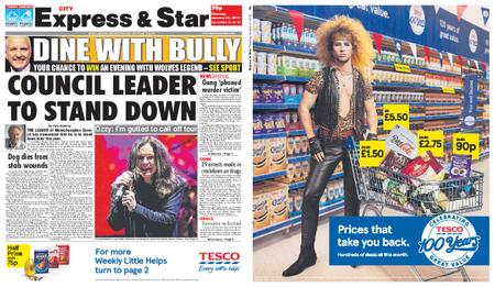 Express and Star City Edition – January 31, 2019
