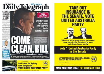 The Daily Telegraph (Sydney) – May 17, 2019