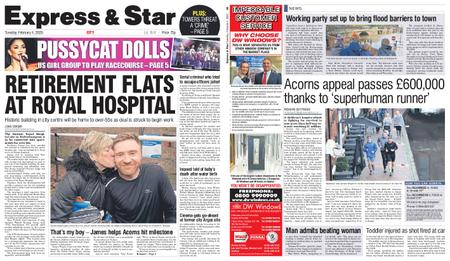 Express and Star City Edition – February 04, 2020
