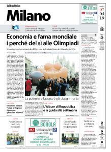 la Repubblica Milano - 7 Aprile 2019