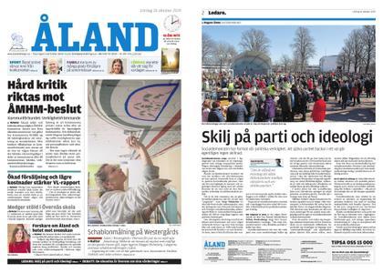 Ålandstidningen – 26 oktober 2019