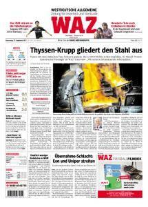 WAZ Westdeutsche Allgemeine Zeitung Oberhausen-Sterkrade - 21. September 2017