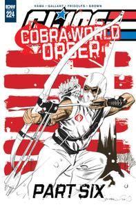 G I Joe - A Real American Hero 224 2016 2 covers digital