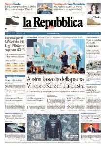 la Repubblica - 16 Ottobre 2017