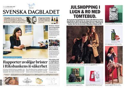 Svenska Dagbladet – 08 december 2017