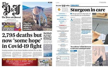 The Press and Journal Moray – May 07, 2020
