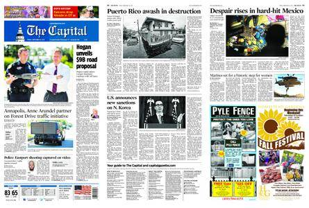 The Capital – September 22, 2017