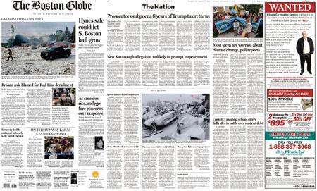The Boston Globe – September 17, 2019
