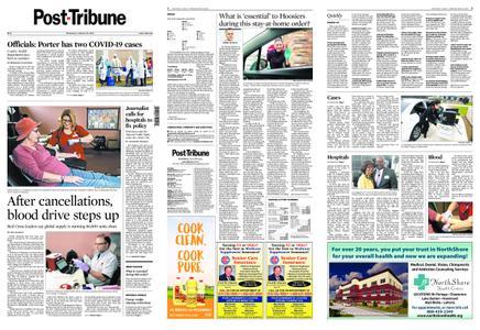 Post-Tribune – March 25, 2020