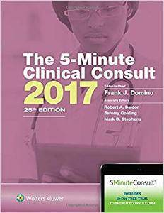 The 5-Minute Clinical Consult 2017 (The 5-Minute Consult Series)