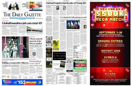 The Daily Gazette – August 31, 2018