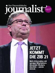 Der Österreichische Journalist - Mai/Juni 2018