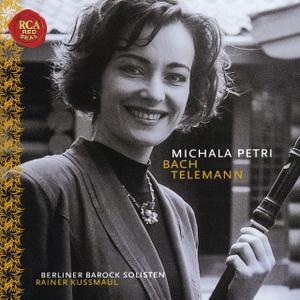 Michala Petri - Michala Petri Plays Bach & Telemann (1998 Reissue) (2018)