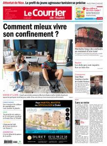 Le Courrier de l'Ouest Cholet – 31 octobre 2020