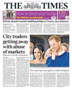 The Times - 19 January 2018