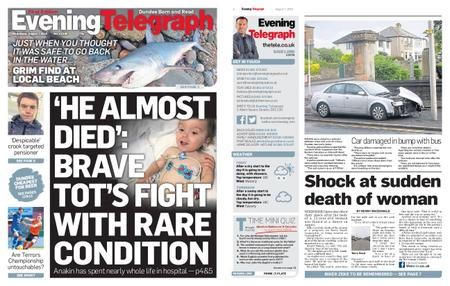 Evening Telegraph First Edition – August 07, 2019