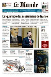 Le Monde du Jeudi 31 Octobre 2019