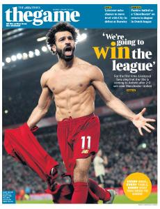 The Times - The Game - 20 January 2020