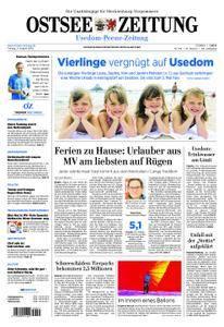 Ostsee Zeitung Wolgast - 03. August 2018