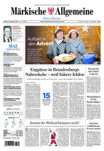 Märkische Allgemeine Dosse Kurier - 03. Dezember 2018