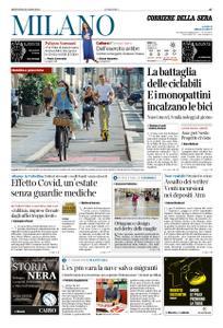Corriere della Sera Milano – 30 luglio 2020