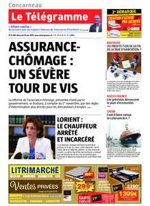 Le Télégramme Concarneau – 19 juin 2019