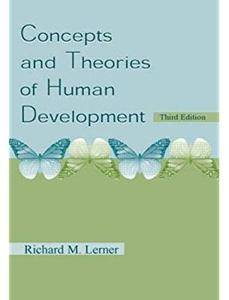 Concepts and Theories of Human Development (3rd edition) [Repost]