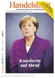 Handelsblatt - 28. September 2018