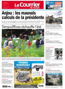 Le Courrier de l'Ouest Angers – 09 juillet 2021