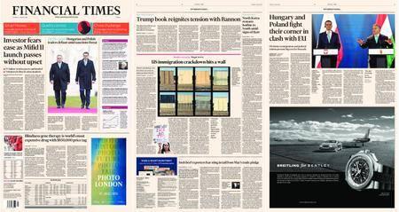 Financial Times Europe – 04 January 2018