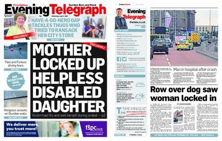 Evening Telegraph First Edition – July 17, 2019