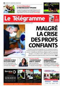 Le Télégramme Brest Abers Iroise – 01 septembre 2020