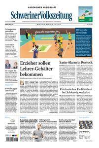 Schweriner Volkszeitung Hagenower Kreisblatt - 26. März 2018