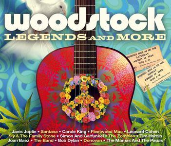 VA - Woodstock Legends And More (3CD, 2019)